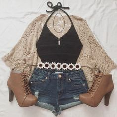 shoes jacket hair accessory cardigan , For More Fashion Visit Our Website cute summer outfits, cute summer outfits outfit ideas,casual outfits shoes j. Really Cute Outfits, Cute Summer Outfits, Cute Casual Outfits, Pretty Outfits, Stylish Outfits, Fall Outfits, Girls Fashion Clothes, Teen Fashion Outfits, Style Clothes