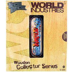 Tech Deck Wooden Collector Series [Grass - World Industries]
