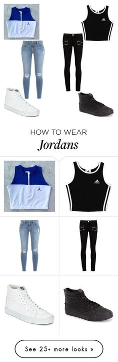 """""""Which one?"""" by soccer-freak9 on Polyvore featuring adidas, Vans, Frame Denim, Paige Denim and rivals"""