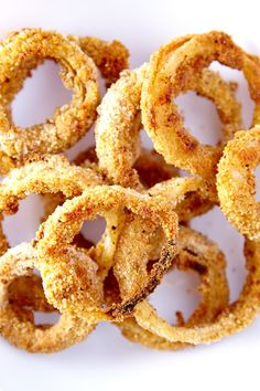 Crispy Onion Rings - Weight Watchers Recipe (4 Points)