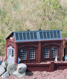 PIKO G SCALE BREWERY SIDE BUILDING 62015 #Piko