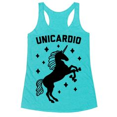 """Unicardio - Do your cardio in majestic and magical style with this unicorn design featuring the unicorn pun """"Unicardio"""" featuring a fitness unicorn! Perfect for a cardio workout, unicorn lover, gym workout, and getting fit!"""