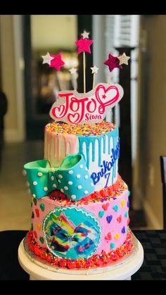 Jojo Siwa Cake Cake Designs In 2019 Pinterest Jojo