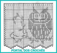 Best 12 Szydełkomania: Zazdrostka – Page 422001427582088057 Filet Crochet, Crochet Diagram, Crochet Chart, Crochet Motif, Crochet Patterns, Crochet Curtain Pattern, Crochet Curtains, Curtain Patterns, Crochet Birds