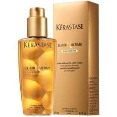 Kerastase Hair elixir- works wonders!