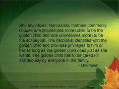 scapegoat golden child relationship - Google Search