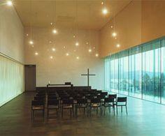 Funeral Chapel by Burkard Meyer Church Architecture, Architecture Details, Modern Church, Church Design, Church Building, Building Design, Funeral Ideas, Interior Design, Adventure Time
