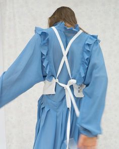 "- M__U__R (@m__u__r)""_______our white top with vintage dress"""
