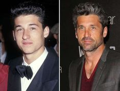 Patrick Dempsey - Ron Galella, Ltd. Patrick Dempsey, Anthony Michael Hall, Michael Keaton, Celebrities Before And After, Celebrities Then And Now, Actors Then And Now, Val Kilmer, Charlie Sheen, Richard Gere