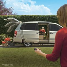 Bring style and comfort to the campsite with the Kia Sedona.