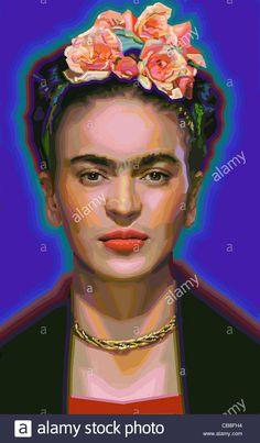 Frida Kahlo Stock Photo, Royalty Free Image: 41369808 - Alamy