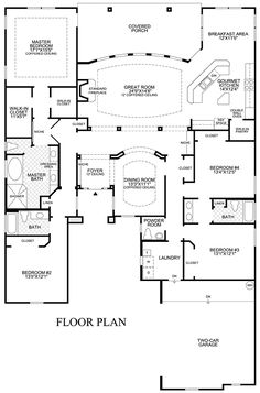 one story open floor plan design ideas toll brothers hilton head custom homes