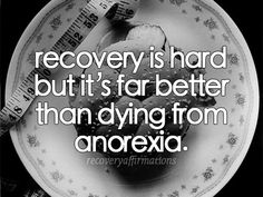 . . . because sometimes you need this reminder. Choose recovery. It hurts, but it will save your life. #edrecovery #anorexia
