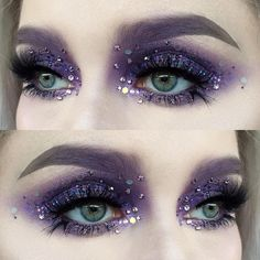 Image result for dark fairy makeup