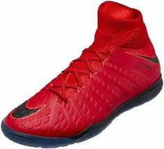 quality design f69d0 a649c Nike Kids HypervenomX Proximo II IC – University Red Black