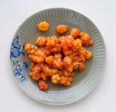 Torkkuja & Nokkosia: Oranssi on uusi musta. Cloudberries.