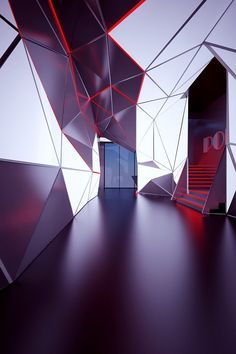 Faceted ceiling , Polygon club