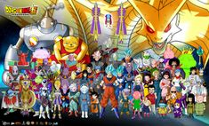 personajes de dragon ball super poster by naironkr on DeviantArt Dragon Ball Gt, Super Manga, Wallpapers En Hd, Goku Y Vegeta, Manga Dragon, Goku Wallpaper, Hero Poster, Black Dragon, Black Goku