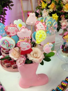 Peppa Pig Party Decoration ideas