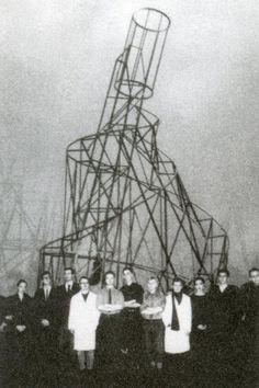 Monument to the Third International by Vladimir Tatlin