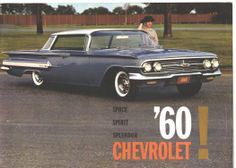 1960 Chevrolet sales catalog.