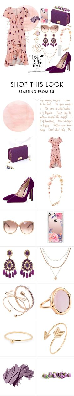 """SpringDresses"" by sisi-mrpr ❤ liked on Polyvore featuring Cinq à Sept, Prada, Jennifer Behr, Chloé, Casetify, Kenneth Jay Lane, Luv Aj, Ginette NY, Bobbi Brown Cosmetics and springdresses"
