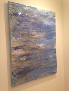 30 x 40 textured abstract. Chandler Hines Art
