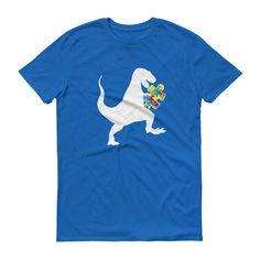 Autism Au-saurus Shirt - Autism Awareness Shirt
