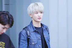Oh, Minho the silver hair . . .