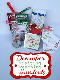 Lds visiting teaching christmas gifts