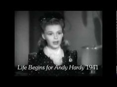 """Every Judy Garland film in 14 minutes"" ~ From her first screen entrance to her last scene in her last movie: clips from every movie she made (14:10) [Video]"