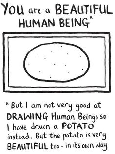 You guys and the potato are very beautiful. But don't get too close to the potato... they can be aggressive
