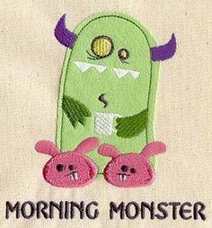 Morning Monster (Applique)_image