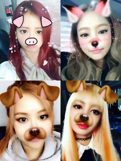 Blackpink on the snow app Anime Yugioh, Anime K, Anime Pokemon, Anime Plus, Divas, Yg Entertainment, South Korean Girls, Korean Girl Groups, Anime Quotes Tumblr