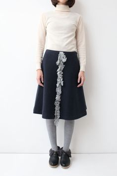 Mina Perhonen S/S 2015 - nordic moss skirt