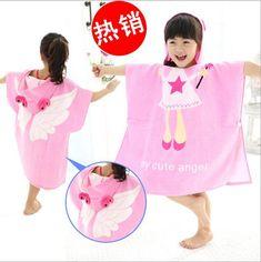 Mi toalla es demasiado aburrida y sin chiste, necesito una así. Baby Towel, Pjs, Hello Kitty, Textiles, Embroidery, Sewing, Cute, Taxi, Bathroom Accessories