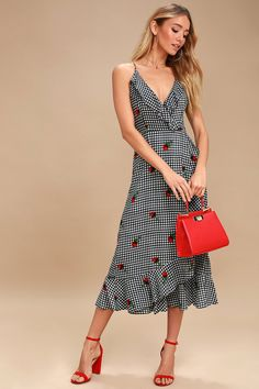 23833e85163 We are loving all thing gingham this season, and the Lucy Love Kentucky  Derby Black