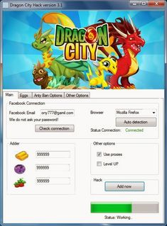 Dragon City Hack and Cheats   Dragon City is a facebook game developed by Social Point. You collect and raise and breed different…