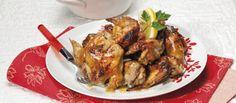 Receita de Asinhas de frango agridoces. Descubra como cozinhar Asinhas de frango agridoces de maneira prática e deliciosa com a Teleculinaria!