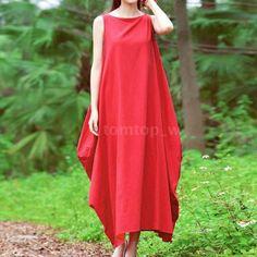 Летнее женское богемное макси-длинный сарафан, повседневная, свободного покроя пляжное платье плюс размер F5X0