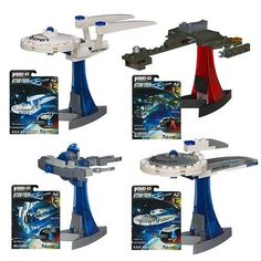 Star Trek Kre-O Micro Build Ships Wave 1 @ niftywarehouse.com #NiftyWarehouse #StarTrek #Trekkie #Geek #Nerd #Products