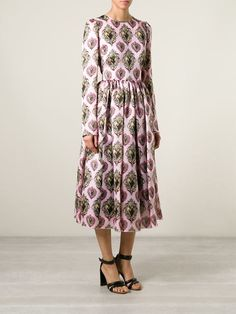 Dolce & Gabbana 'sacred Heart' Print Dress - Julian Fashion - Farfetch.com