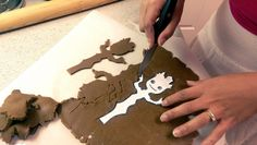 """CUTE Baby Groot Gingerbread men     After seeing the movie """"Guardians of the Galaxy"""" I needed to have more of Baby Groot in my life.   A f..."""
