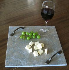 12x12 marble cheese board