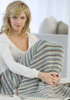 Looking for unique, yet easy crochet patterns? This Dots and Dashes Throw is just the one! This crochet pattern makes a delightful throw that you can use all year round. Anyone and everyone can use simple crochet patterns like this one.