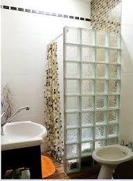 Bloques de vidrio luz buscar con google bathroom - Bloques de vidrio para bano ...