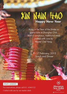 Happy Chinese New Year    #Dinner   #Buffet   #ITCHotels   #newyear2013   #Lunch