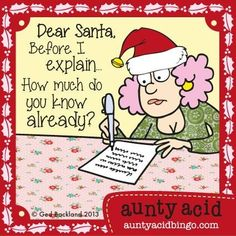 Aunty Acid On Christmas                                                       …