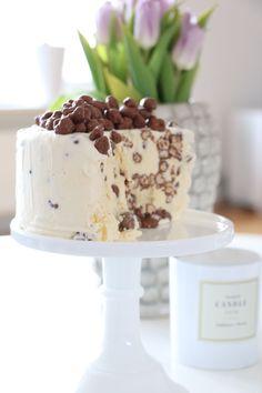 Glasstårta med kinapuffar – Fikastunder