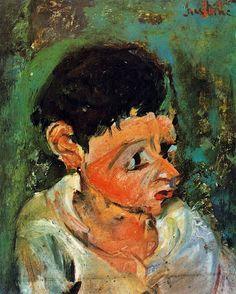 Chaïm Soutine  Portrait of Charlot, 1937